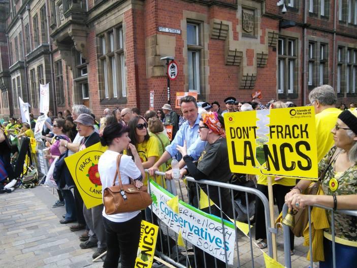 Pitt Street protestors 23 June